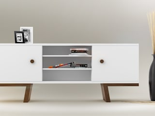 TAO sideboards: styl , w kategorii  zaprojektowany przez Redo Design Studio Radosław Nowakowski
