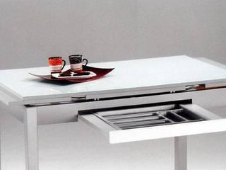 Mesas de cocina extensibles de Furnet Moderno