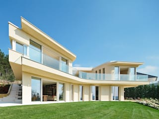 Haus GF t-hoch-n Architektur Mediterrane Häuser
