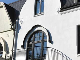 Stadthaus Winterhude Moderner Balkon, Veranda & Terrasse von Andreas Edye Architekten Modern