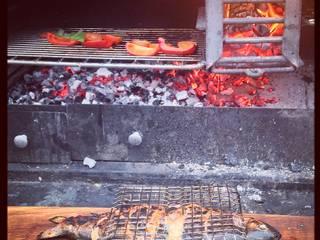Fresh fish on the grill von The Braai Man Mediterran
