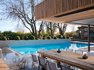 Bluebell Pool House Casas modernas de Adam Knibb Architects Moderno