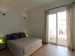 Akdeniz Yatak Odası Lara Pujol | Interiorismo & Proyectos de diseño Akdeniz