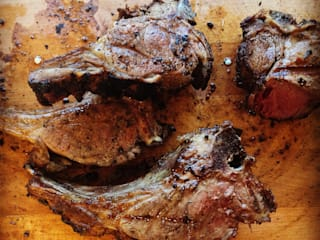 Grilled meat:   by The Braai Man