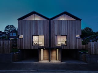 The Cedar Lodges Modern houses by Adam Knibb Architects Modern