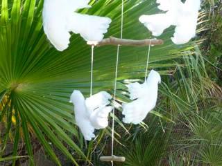 Mobile colombes par Les Curiosités de Fred Éclectique