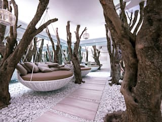 Zen Wellness: Spa in stile in stile Eclettico di Effkey by Francesco Maglie & Ing Luigi Verardi