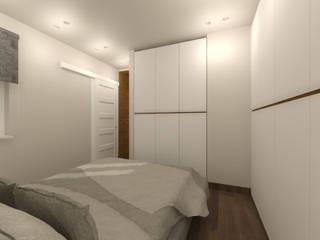| St.P | Camera da letto moderna di Francesco Di Somma Study of Architecture & Design Moderno