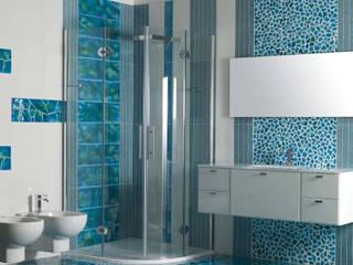 Canaletto Azzurro: Bagno in stile  di Acquario Due