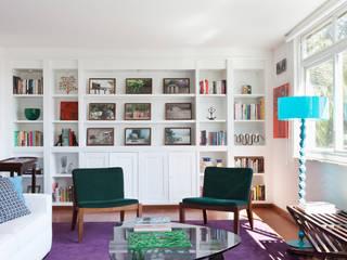 Projeto Amauri Suite Arquitetos Salas de estar modernas