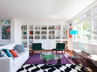Гостиная в . Автор – Suite Arquitetos, Модерн