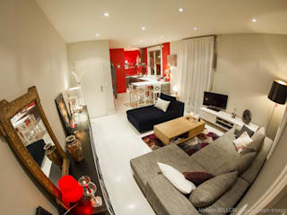 APPARTEMENT L. Salon moderne par WIV U Moderne