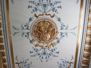 Роспись. Потолок в классическом стиле Спальня в эклектичном стиле от Студия Александрия Эклектичный