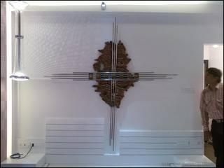 metal art Eclectic style walls & floors by Drashtikon Designer Consultant (kamal maniya) Eclectic