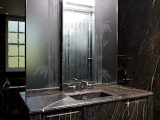 Luxury glass finishes for interiors Classic style bathroom by Lucy Batt Classic