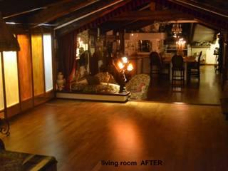 Living room BEFORE/ AFTER di decoratriceweb.com Interior Design 3D ONLINE