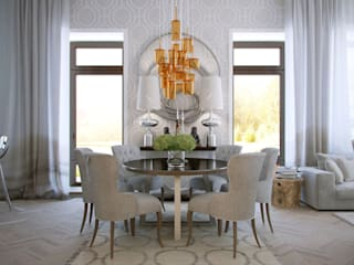 Eclectic style dining room by KYD BURO Eclectic