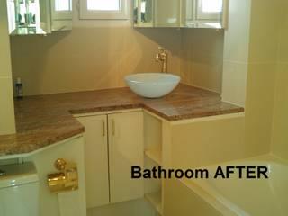 Bagno con vasca PRIMA/ DOPO di decoratriceweb.com Interior Design 3D ONLINE
