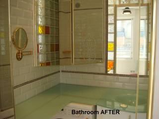 Sala di bagni di un piccolo appartamento DOPO:  in stile  di decoratriceweb.com  Interior Design 3D ONLINE