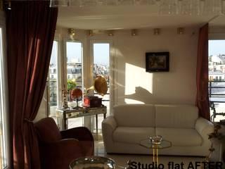 Riconfigurazione di un piccolo appartamento DOPO:  in stile  di decoratriceweb.com  Interior Design 3D ONLINE