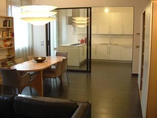 Ristrutturazione di Appartamento privato. Provincia di Perugia: Soggiorno in stile  di Studio Architetti Cornacchini - De Boni
