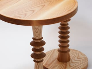 Turned Wood Occasional Table: modern  by M Design Living, Modern