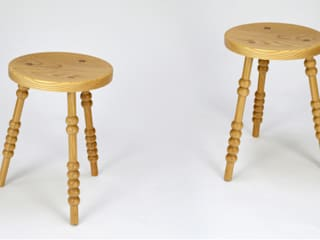 Side Stools:   by M Furniture Design