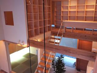 seep out: 建築設計事務所SAI工房が手掛けた和室です。