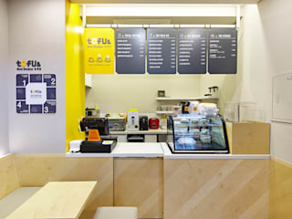 토푸앤 판교점 S.I. Manual / TOFU& Store Identity Manual , Pangyo, Gyeonggido, Korea by Design Solution 모던