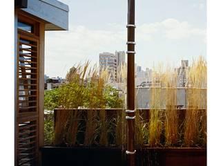 dolny manhattan penthouse: styl , w kategorii Taras zaprojektowany przez Zbigniew Winiarczyk