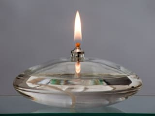 Large Flat Oil Lamp :  Bars & clubs by The Covent Garden Candle Company