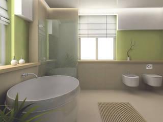 Cisternas empotradas Baños de estilo moderno de JIMTEN Moderno