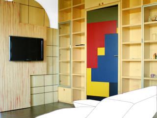 Salon de style  par VANONCINI PIETRO & C SNC , Moderne