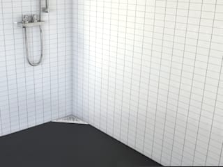 JIMTEN- Canaletas plato de ducha - Gama Linnum - Baños de estilo moderno de JIMTEN Moderno