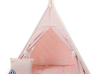 MY-TEEPEE KINDER-SPIELZELT ROSA mit passender Decke & Kissen:   von my-teepee®
