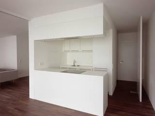 Bogenallee Wohnen [+] blauraum architekten Moderne Küchen