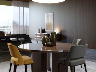 Minotti space Architectural Visualization Moderne Wohnzimmer