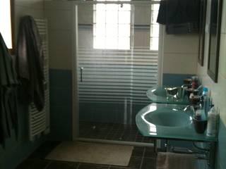Suite parentale: salle d'eau: Salle de bains de style  par DK2DECO