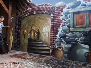 Terrassen Illusionsmalerei:  Terrasse von Pure Leidenschaft
