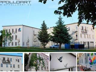 Pure Leidenschaft Edificios de oficinas de estilo moderno