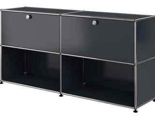 USM Haller Sideboard, anthrazitgrau:   von USM Möbelbausysteme