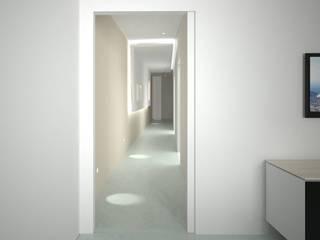 Interior Massafra: Soggiorno in stile  di B+P architetti