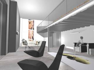 Loft in Milan Soggiorno moderno di gianluca milesi architecture Moderno