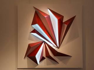 ROSSO, Sculpture Lumineuse Interactive par Adrien Marcos Éclectique