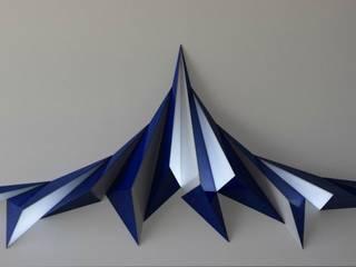 INDIGO, Sculpture Lumineuse Interactive par Adrien Marcos Éclectique