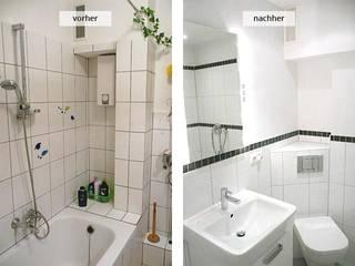 Neugestaltung eines Bades:   von HWS Handwerker Vermittlunsgservice GmbH