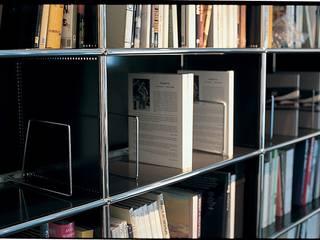 Arbeiten mit USM: klassische Arbeitszimmer von USM Möbelbausysteme