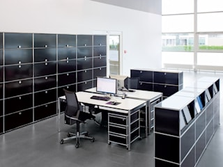 usm m belbausysteme muebles y accesorios en b hl homify. Black Bedroom Furniture Sets. Home Design Ideas