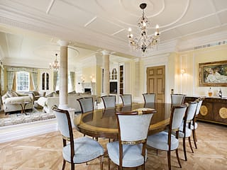 Principal Dining Area: classic Houses by Christopher Cook Designs Limited