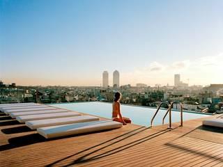 Mediterranean style pool by Holz + Floor GmbH | Thomas Maile | Wohngesunde Bodensysteme seit 1997 Mediterranean